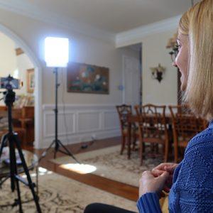 Christine Mottram Voice Coaching Filming