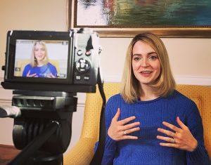 Christine Mottram - Filming Video